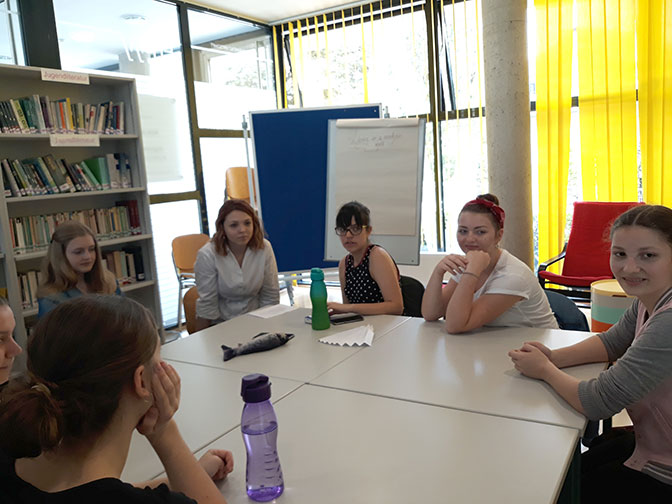 ELJUB-Club in der Bibliothek