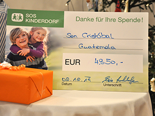 Spende an SOS-Kinderdorf